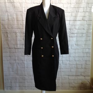 Nordstrom Blazer Dress Black Size 12